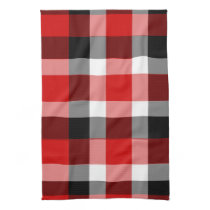 It's Not a Picnic Until It Rain Plaid Dishtowel Towel