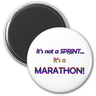 It's not a Sprint...2 2 Inch Round Magnet