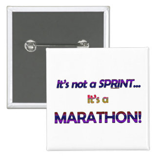 It's not a Sprint...2 2 Inch Square Button