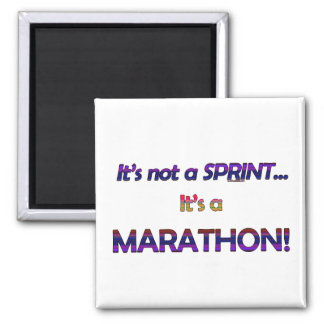 It's not a Sprint...2 2 Inch Square Magnet