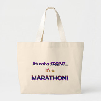 It's not a Sprint...2 Jumbo Tote Bag
