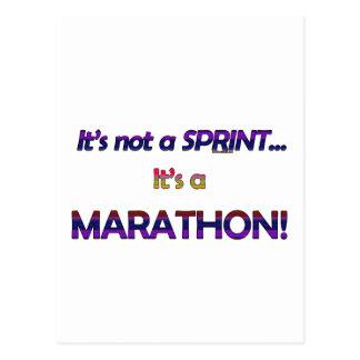 It's not a Sprint...2 Postcard