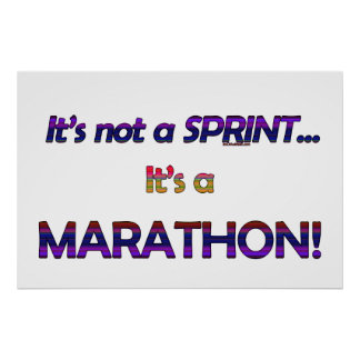 It's not a Sprint...2 Poster