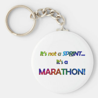 It's not a Sprint... Basic Round Button Keychain