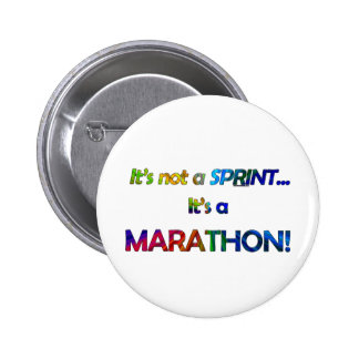It's not a Sprint... Pinback Buttons
