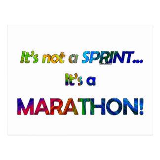 It's not a Sprint... Postcard