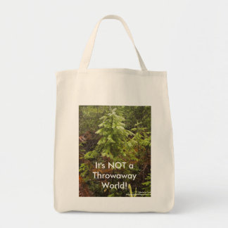 It's Not a Throwaway World Grocery Bag