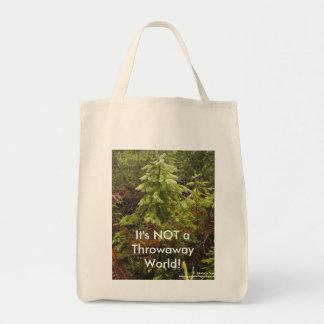 It's Not a Throwaway World Grocery Bag
