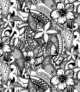 bfb925dbfaaa It s Not Always Black Or White Polynesian Tattoos Flip Flops