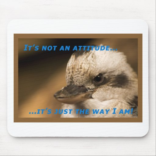 It's Not An Attitude! Mouse Pads