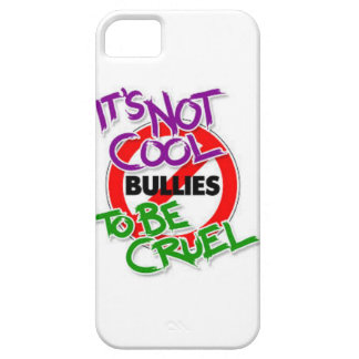 Its Not Cool To Be Cruel iPhone SE/5/5s Case
