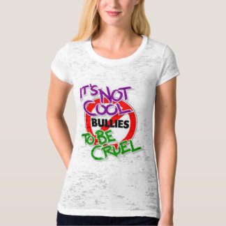 It's Not Cool Women's  Fitted Burnout T-Shirt