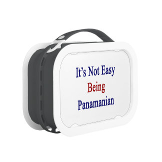 It's Not Easy Being Panamanian Yubo Lunchbox