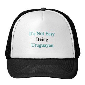 It's Not Easy Being Uruguayan Trucker Hat