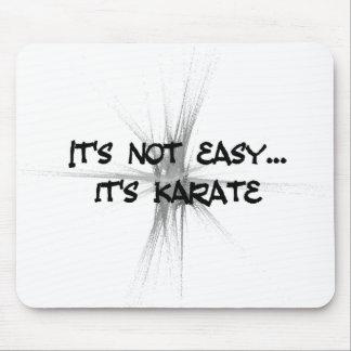 It's Not Easy - Karate Gray Mousepad