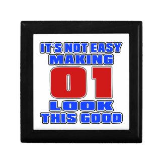 It's not easy making 01 look this good keepsake box