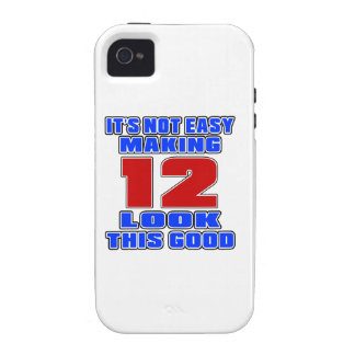 It's not easy making 12 look this good Case-Mate iPhone 4 covers