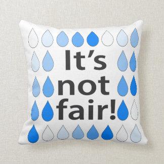 """""""It's not fair!"""" Shmeiki Cathartic Pillow"""