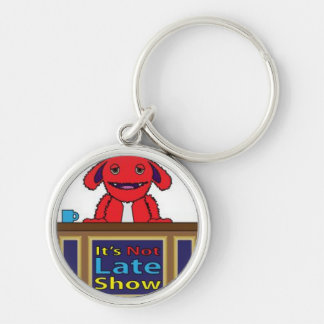 It's Not Late Show Logo Key Chain