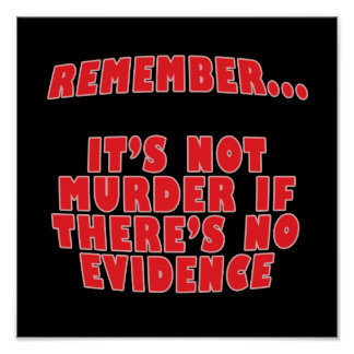 It's Not Murder Poster