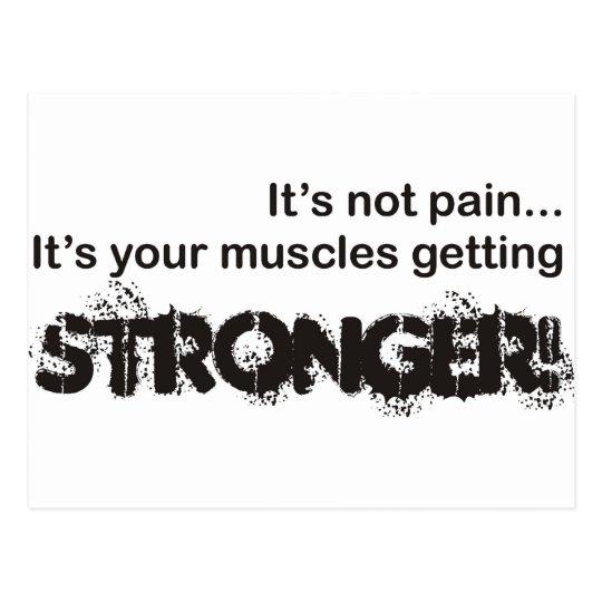 Its Not Pain... Postcard