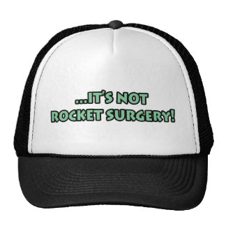 It's Not Rocket Surgery T-Shirts and Gifts! Mesh Hats