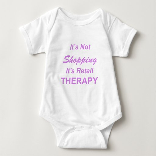 It's Not Shopping, It's Retail Therapy T-shirt
