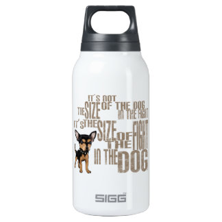 It's Not The Size Insulated Water Bottle