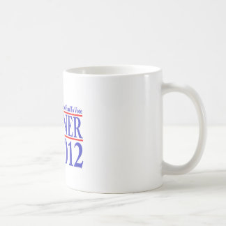 It's Not Too Hard To Vote Weiner 2012 Coffee Mug