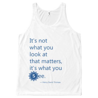 It's Not What You Look At That Matters All-Over-Print Tank Top