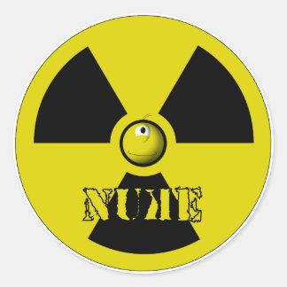 It's Nuke! Round Sticker
