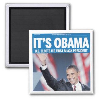 It's Obama Headline Magnet