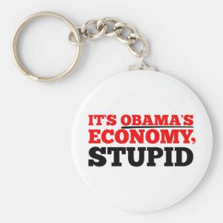 It's Obama's Economy Stupid. Keychain