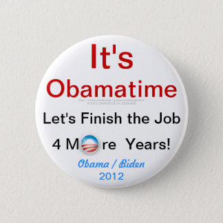 It's Obamatime Button