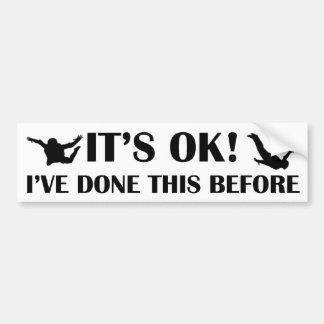 IT'S OK! CAR BUMPER STICKER