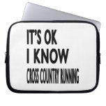 It's OK I Know Cross Country Running Dance Laptop Computer Sleeves