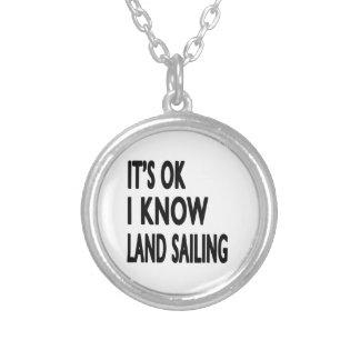 It's OK I Know Land Sailing Jewelry