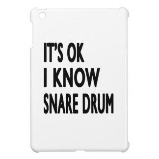 It's Ok I Know Snare drum iPad Mini Covers