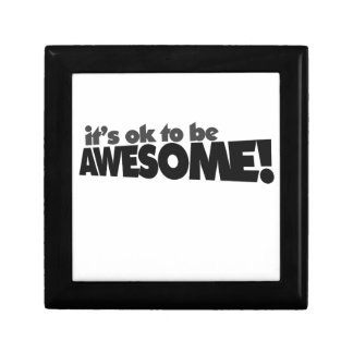 It's ok to be awesome jewelry boxes