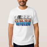 It's OK to be Different BLACK SHEEP T Shirts