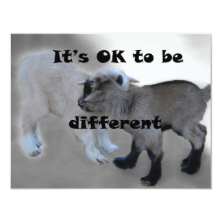 It's Ok to be different Card