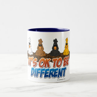 It's OK To be Different Two-Tone Coffee Mug
