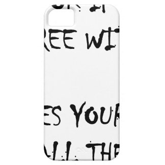 Its ok to disagree with me iPhone SE/5/5s case