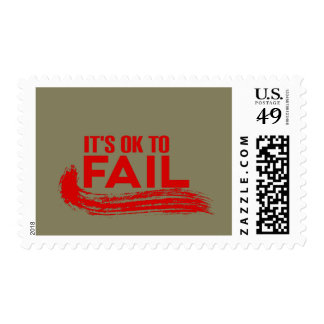 Its Ok To Fail Stamp