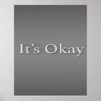 It's Okay Poster
