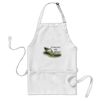 It's Okay That We're Different... Adult Apron