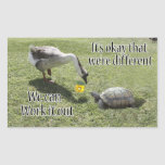 It's okay that we're Different, We Can Work It Out Stickers