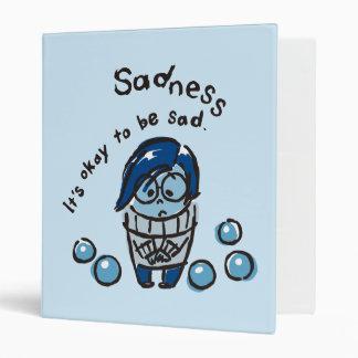 It's Okay To Be Sad Binders