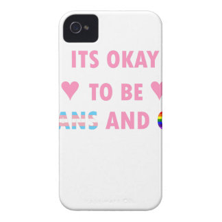 It's Okay To Be Trans And Gay (v1) iPhone 4 Case