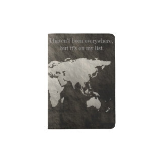It's On My List Passport Holder